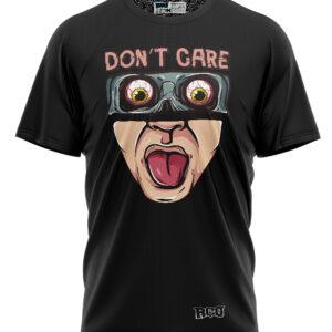 Tshirt-DONT-CARE-BLACK